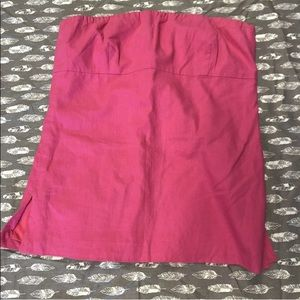 J. Crew tube top size 8 pink